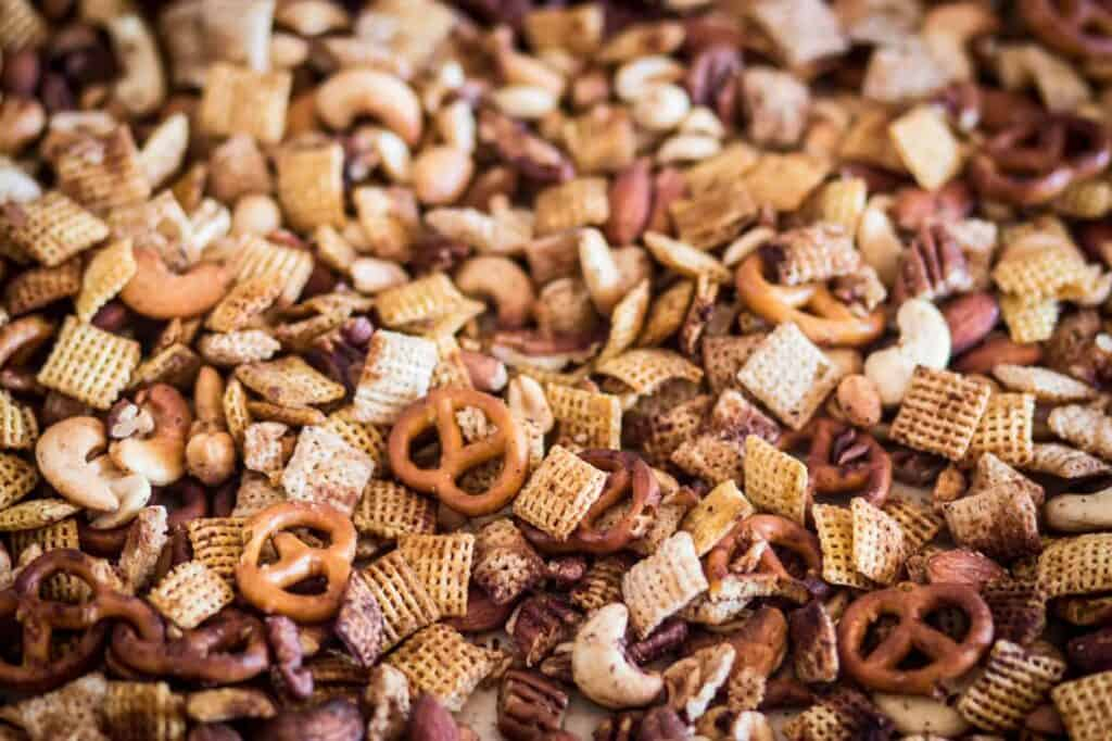 gluten free air fryer chex mix is part of my top 10 gluten free recipes of 2020