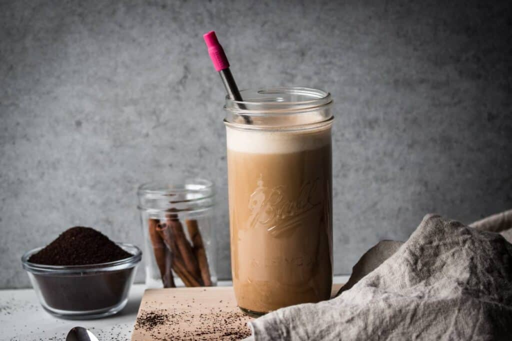 One of my favorite things is this paleo coconut milk iced latte
