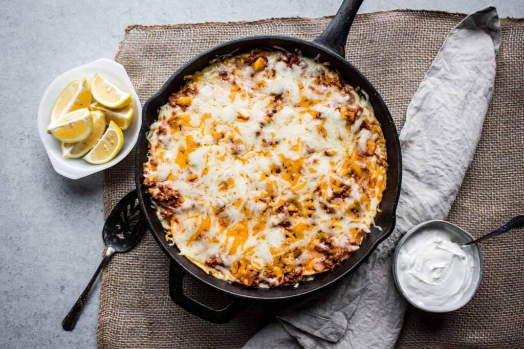 gluten free skillet enchiladas is part of my top 10 gluten free recipes of 2020