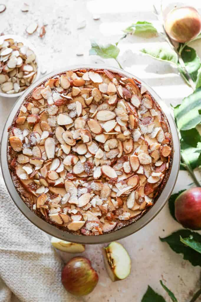 one of our favorite things is this gluten free apple almond cake
