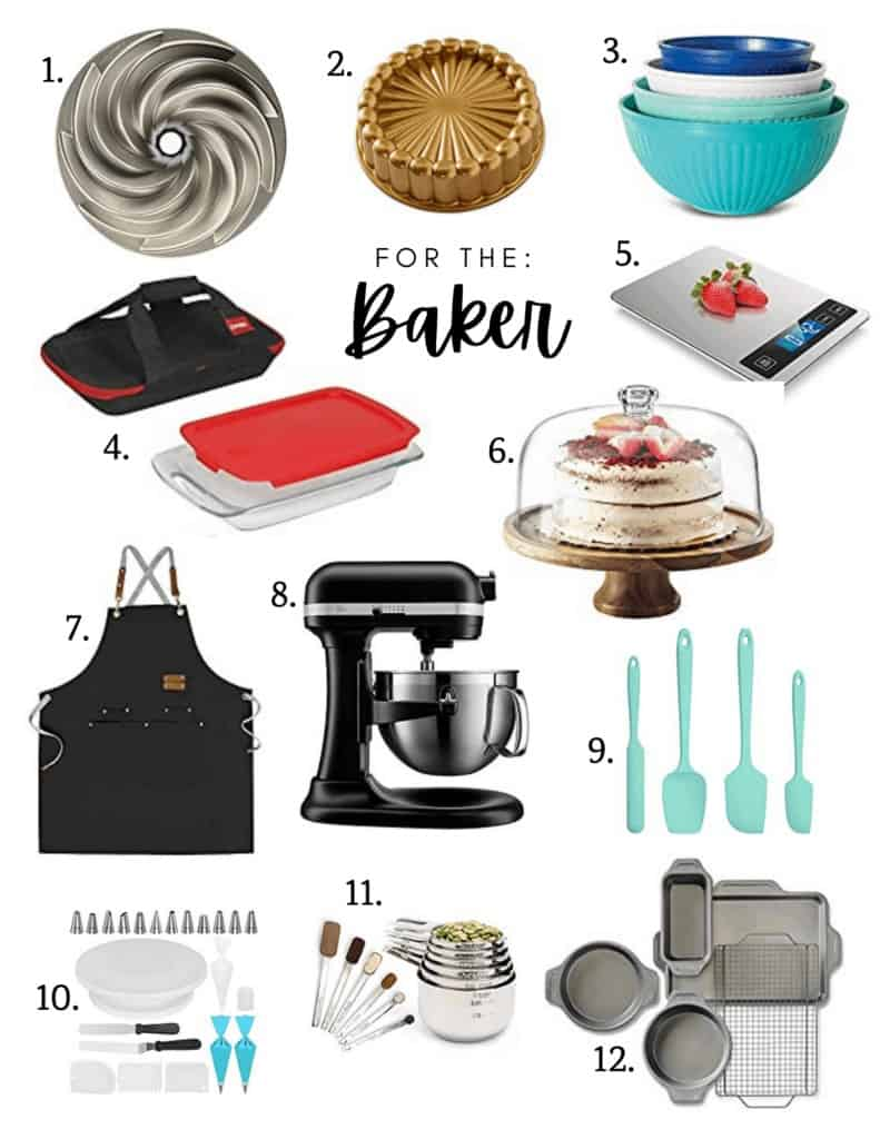 Christmas gift ideas for the baker in your life
