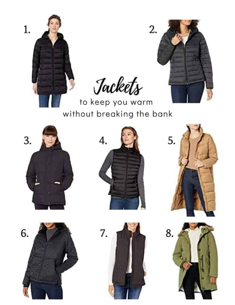 jackets to keep you warm without breaking the bank for women's winter attire to keep you cozy