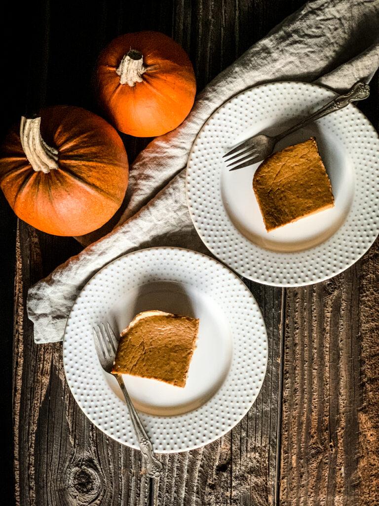 one of my favorite gluten free fall recipes is this gluten free pumpkin pie