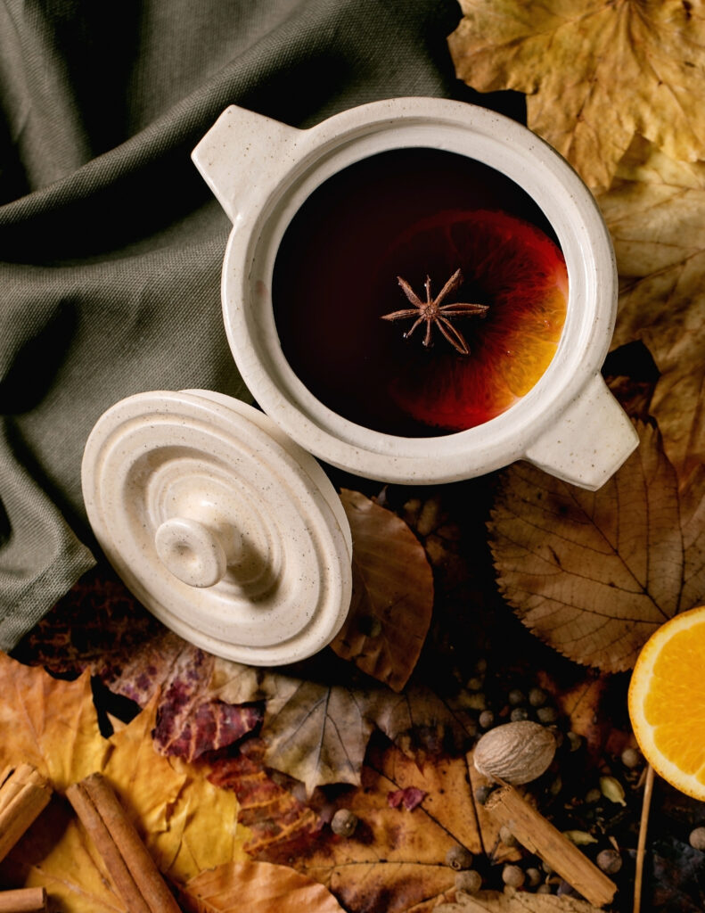 one of my favorite things is a hot cup of tea as the days get shorter and cooler as we head deep into fall
